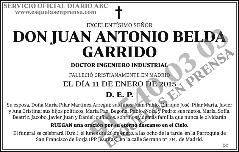 Juan Antonio Belda Garrido